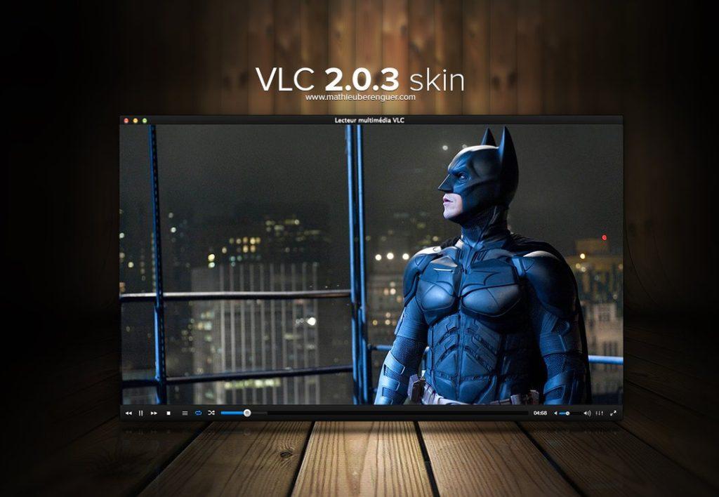 vlc media player skin:
